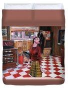 Audrey Horne Twin Peaks Resident Duvet Cover