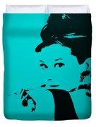 Audrey Light Blue Duvet Cover