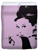 Audrey Pink Duvet Cover