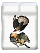 Audubon: Caracara, 1827-38 Duvet Cover