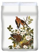 Audubon Dove Duvet Cover