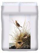 Audubon: Finch Duvet Cover