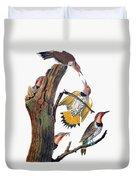 Audubon: Flicker Duvet Cover