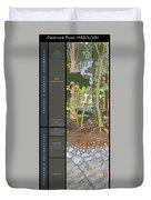 Audubon Forest Hydrology Poster Duvet Cover