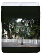 Audubon House Key West Duvet Cover