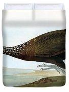 Audubon: Limpkin Duvet Cover