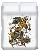 Audubon: Parakeet Duvet Cover