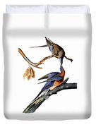 Audubon: Passenger Pigeon Duvet Cover