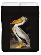 Audubon: Pelican Duvet Cover