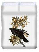 Audubon: Raven Duvet Cover