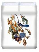 Audubon: Scrub Jay, 1827-38 Duvet Cover