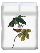 Audubon: Sparrow, 1827-38 Duvet Cover