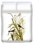 Audubon: Sparrow, (1827) Duvet Cover
