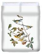 Audubon: Warbler, (1827-1838) Duvet Cover
