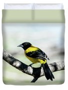 Audubon's Oriole Back Wings Duvet Cover