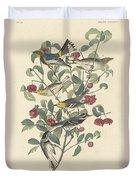 Audubon's Warbler Duvet Cover