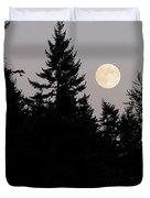 August Full Moon - 2 Duvet Cover