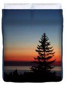 August Glow Pine Duvet Cover