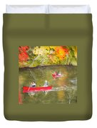 Augusta Canal Number One Duvet Cover