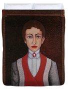 Aurelia De Sousa - The Narrative Of The Silent House Duvet Cover