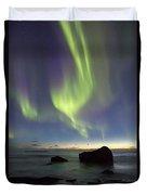 Aurora At Uttakleiv Duvet Cover