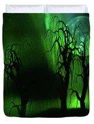 Aurora Borealis Lights - Painting Duvet Cover