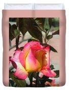 Aurora Color Rose Bud. Wow Duvet Cover