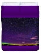 Aurora Panorama Duvet Cover