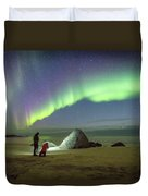 Aurora Photographers Duvet Cover