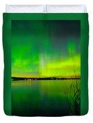 Aurora Reflection Duvet Cover