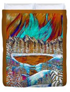 Aurora's Reflections Duvet Cover