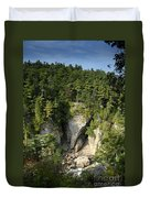 Ausable Chasm Duvet Cover
