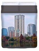 Austin Tower Duvet Cover