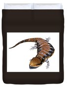 Australia Blue-tongued Skink Duvet Cover