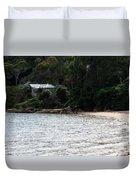 Australia - Hideout On Palm Beach Duvet Cover