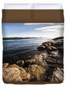 Australian Bay In Eastern Tasmania Duvet Cover