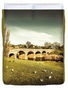 Australian Bridges Duvet Cover