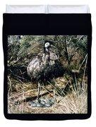 Australian Emu Duvet Cover