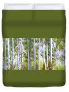 Australian Gum Trees Duvet Cover