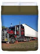 Australian Roadtrain Duvet Cover