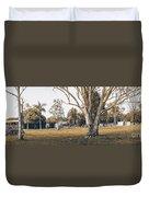 Australian Rural Countryside Landscape Duvet Cover