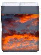 Australian Sunset Duvet Cover