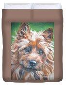 Australian Terrier Duvet Cover