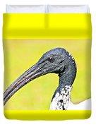 Australian White Ibis Duvet Cover