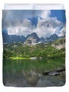Austria Seebensee Duvet Cover