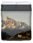 Austrian Sunrise Duvet Cover by Denise Darby