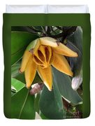 Autograph Tree Seed Pod Duvet Cover