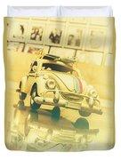 Automotive Memorabilia Duvet Cover
