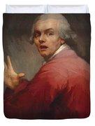 Autoportrait En Homme Surpris Et Terroris 1791 Duvet Cover