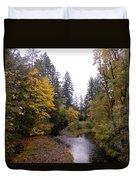Autum In Oregon Duvet Cover